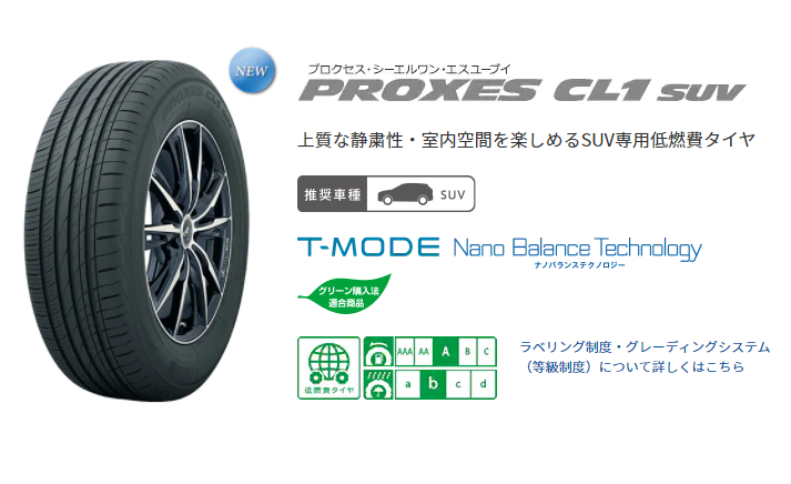 TOYO PROXES CL1 SUV